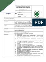 Sop Evaluasi Kesesuaian Layanan Klinis Dengan Rencana Terapi