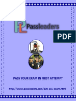 Passleader 200-355 Exam Questions