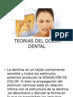 Teorías Del Dolor Dental