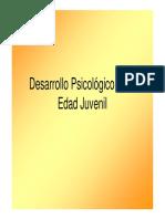 Desarrollopsicológico en La Adolescencial