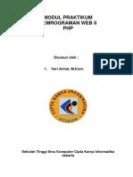 Modul Praktikum Pemrograman Web 2 - PHP.pdf