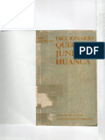 Diccionario Quechua Junín Huanca