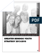 Greater Bendigo Youth Strategy 2013-2016