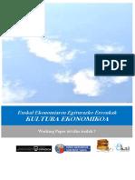 Euskal Ekonomiaren Egiturazko Erronkak. KULTURA EKONOMIKOA