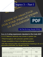 Fire Code Chapter 3 - Part 1 by Mr Randy Tan