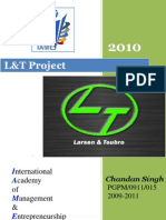 COMPANY PROFILE 2010@ LARSEN AND TOUBRO