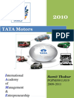 COMPANY PROFILE 2010@ tata motors report