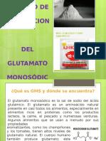 Producción del Glutamato Sodico