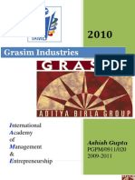 COMPANY PROFILE 2010@ grasim industries