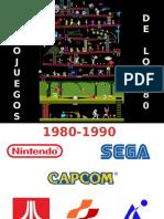 Presentación Videojuegos de los 80