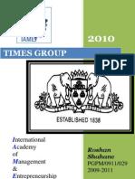 compant profile 2010@ TIMES GROUP