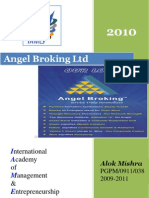 compant profile 2010@  Angel Broking Ltd Angel Broking Ltd