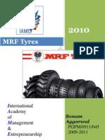 company profile @mrf tyres