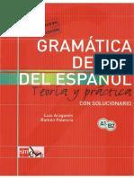 Gramática de uso del español, Teoría y Práctica, nivel A1-B2