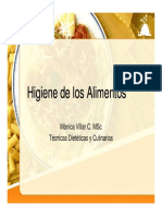 2. Higiene de Los Alimentos