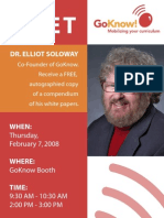 GoKnow - conference poster