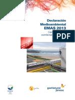 Declaración ambiental Central Térmica Sabón