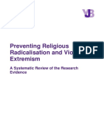 Preventing Violent Extremism Systematic Review