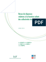 Revue de Dépenses - Fonctions Achat