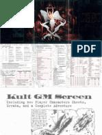 Kult Gm Screen