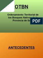 Presentación sobre OTBN - Salta