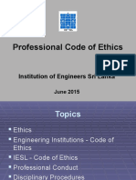 IESL Code of Ethics Conduct