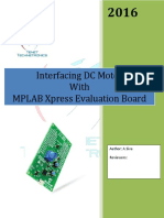 MPLAB Xpress Evaluation Board DC Motor