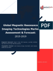 Global Magnetic Resonance Imaging (MRI) Scanners Market Assessment & Forecast