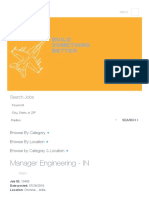 Manager Engineering - In at BOEING