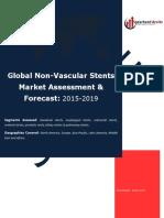 Global Non-Vascular Stents Market Assessment & Forecast