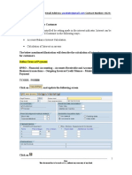 Customer Interest Calculation