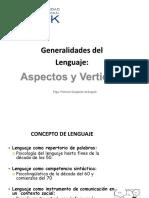 1 Lenguaje Generalidades