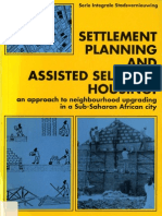 Settlement planning and assisted self-help housing