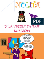 Manolita Virgen de San Lorenzo