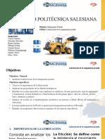 Universidad Politecnica Salesiana Maquinaria Pesadda Ups 2016-1-2 2
