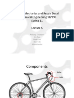 Bicycle Mechanics and Repair - Lecture5
