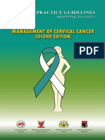 CPG Management of Cervical Cancer (Second Edition)