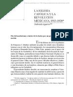La iglesia catolica  y la revolucion mexicana 1913 - 1920 - Gabriel Aguirre.pdf