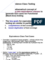 Equivalence Class Testing.ppt