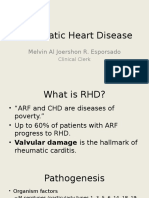 Recommendations for Rheumatic Heart Disease