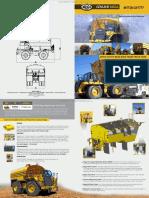 Catalog Mega Mtt20 Caterpillar 777 Rigid Frame Truck Tank Specalog Applications Features Benefits Specifications
