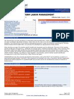 Preterm Labor Identification and Treatment
