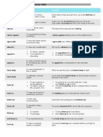 150 Most Common Phrasal Verbs