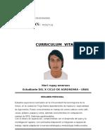 Curriculum Vitae - MORI