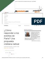 ¿Cómo responder a los eventos de París Juan Stam.pdf