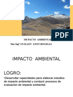 IMPACTO AMBIENTAL clase  1 2015.ppt