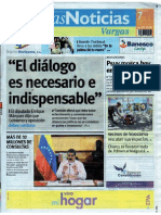 Últimas Noticias Vargas miércoles 7 de septiembre  de  2016
