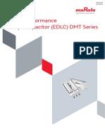 Murata Products DMT Series o84e