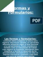 Formas y Formularios