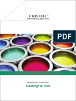 Cristol Paints and Coating Brochure